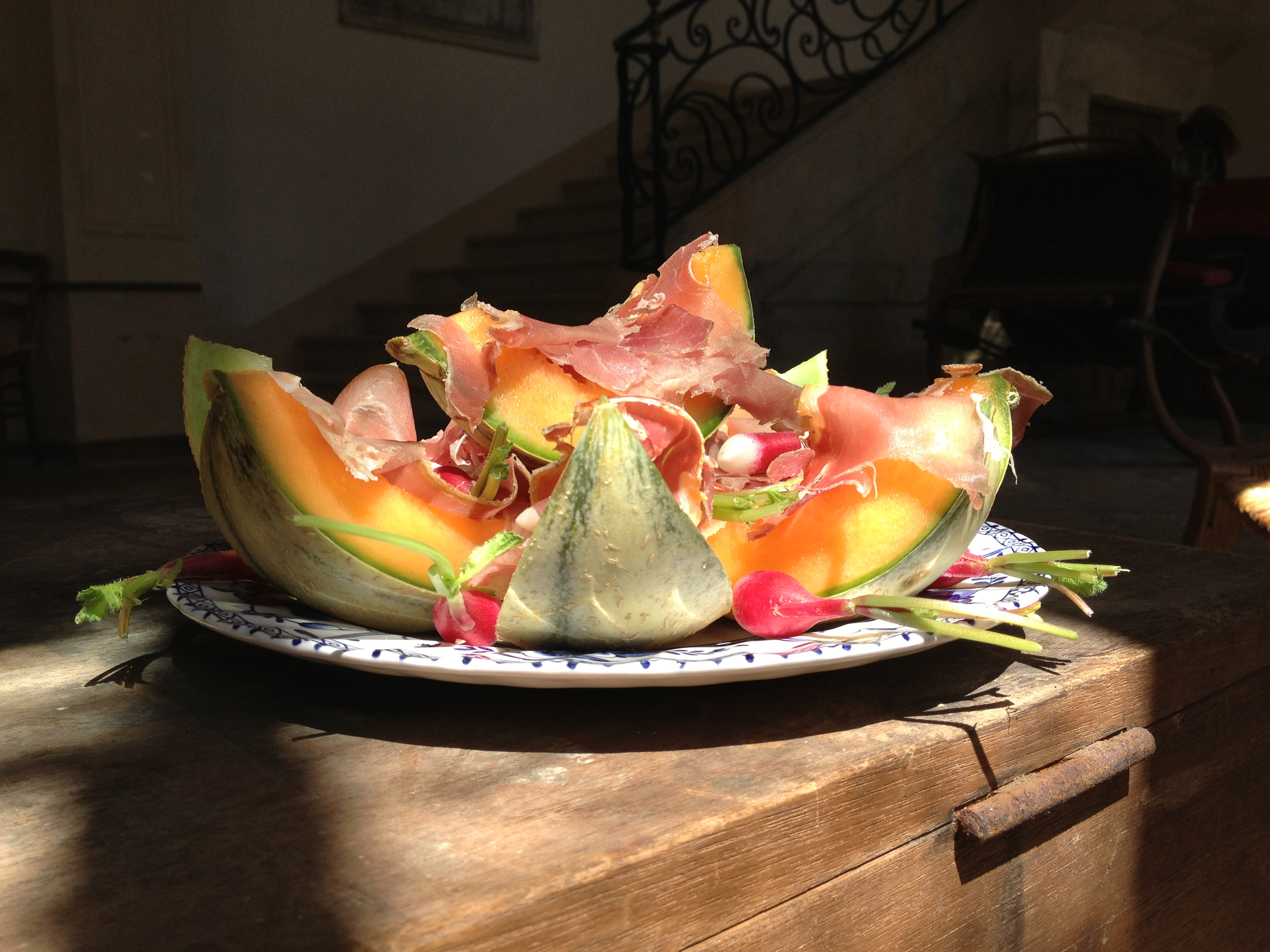 Food   melon and ham 1 5905