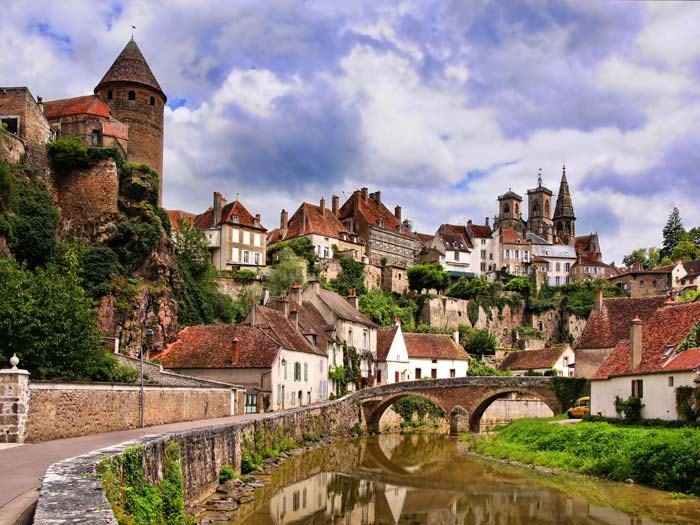 Bigstock pretty medieval town burgundy 8806164270040